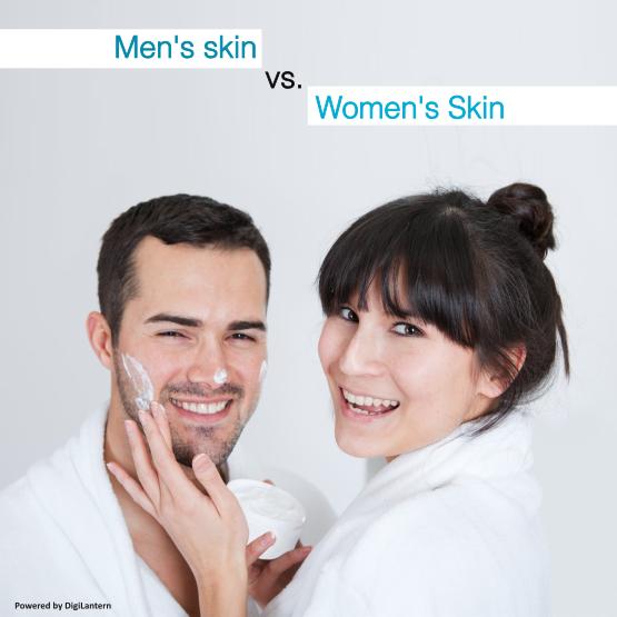 Men vs Women Skin