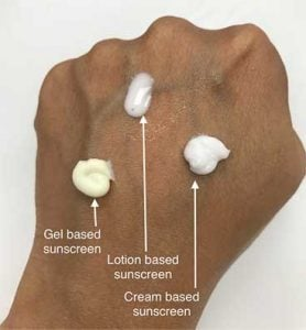 sunscreens for different skin types-zolieskinclinic