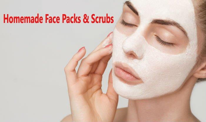 Homemade Face Mask/Packs & Scrubs for Blackheads